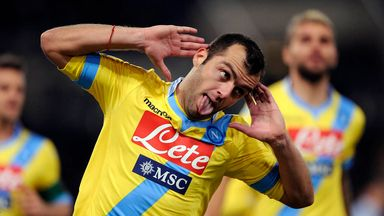 Goran Pandev: Happy at Napoli