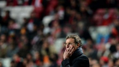Laurent Blanc: Pleased by performance