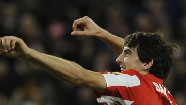 Mikel San Jose: Netted for Athletic Bilbao