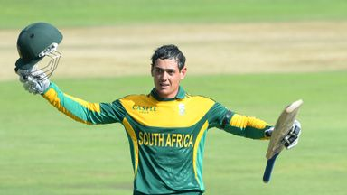 Quinton de Kock: in the runs yet again