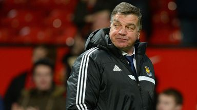 Sam Allardyce: Disappointed with performance