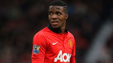 Wilfried Zaha: Manchester United winger to join Cardiff on loan