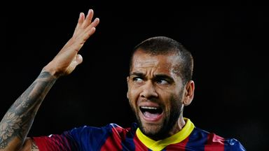 Dani Alves: Not opening future talks yet