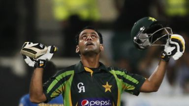 Mohammad Hafeez: Made an unbeaten 140 in Pakistan's huge total of 326-5