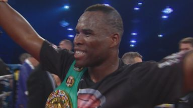 Adonis Stevenson: Left hand finished the job
