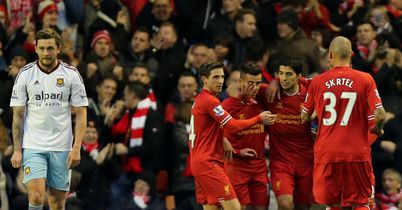 Liverpool see off West Ham