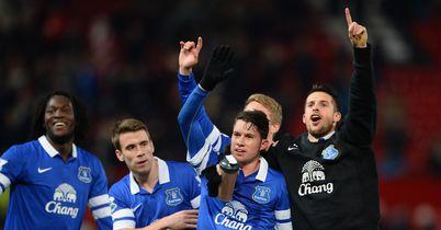 Bryan Oviedo (2nd from left): Match-winner setting an example