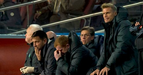 Neil Lennon: Endured an evening to forget as Celtic were crushed in Catalunya
