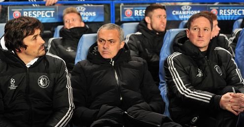 Jose Mourinho: Watched his Chelsea side seal top spot in Group E