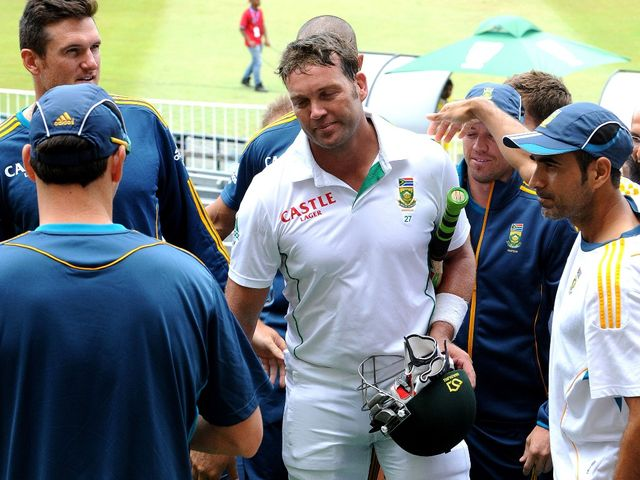Jacques Kallis retires with a victory