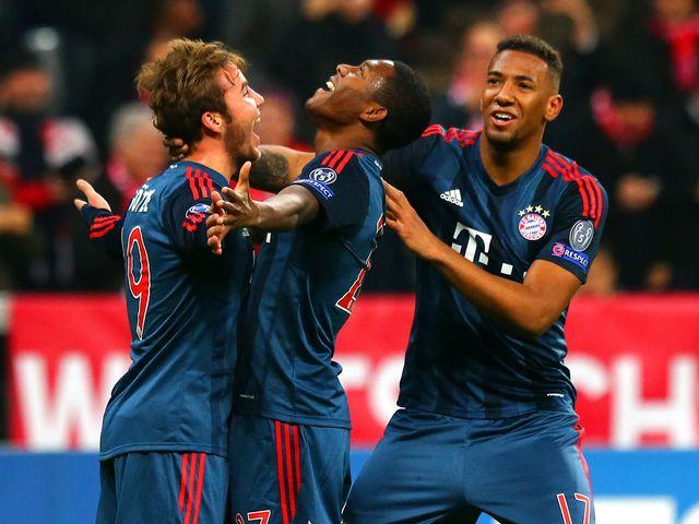 Bayern Munich hope for more celebrations.