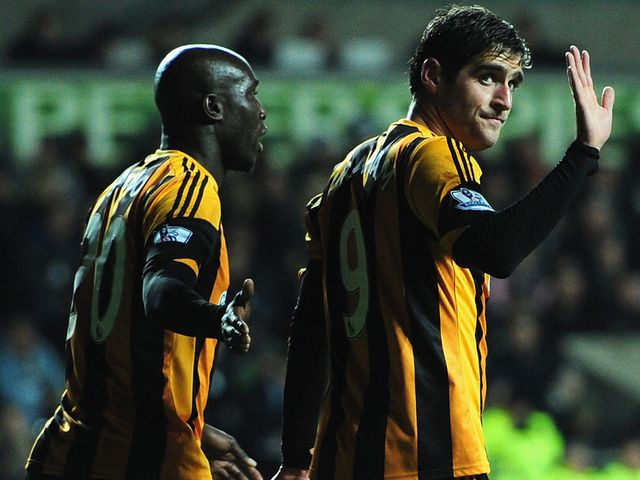 Danny Graham: Grabbed the opener for Hull