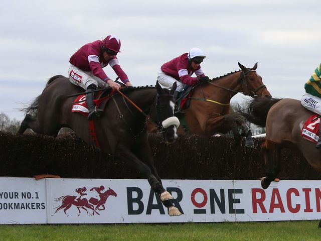 Don Cossack (left): Ground out victory in Drinmore