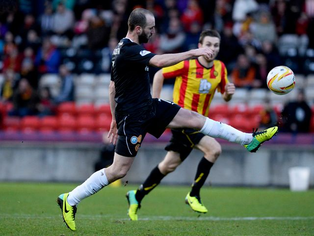 James McFadden scores for Motherwell