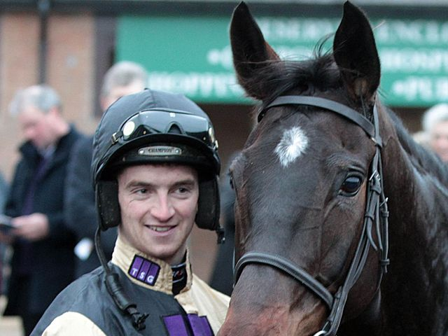 Patrick Mullins with Black Hercules