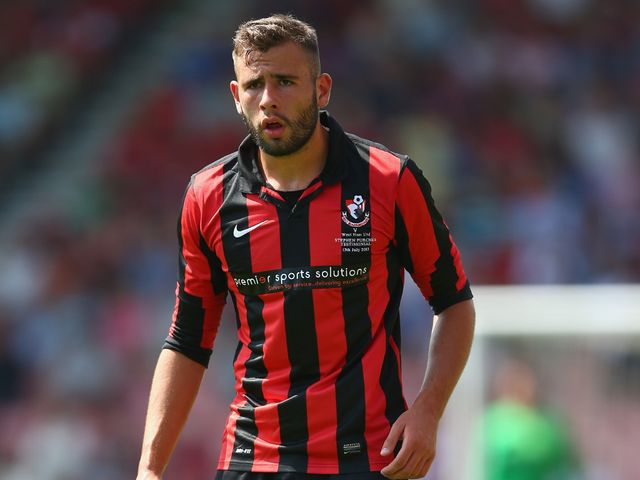 Steve Cook struck late in the day for Bournemouth