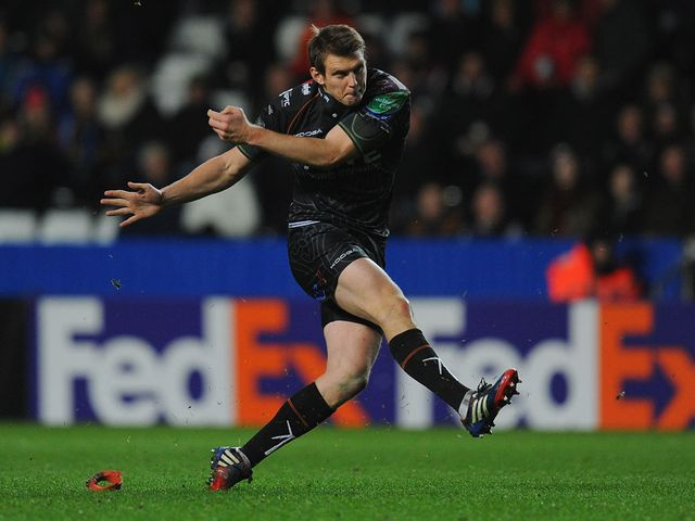 Dan Biggar: Five penalties not enough for Ospreys