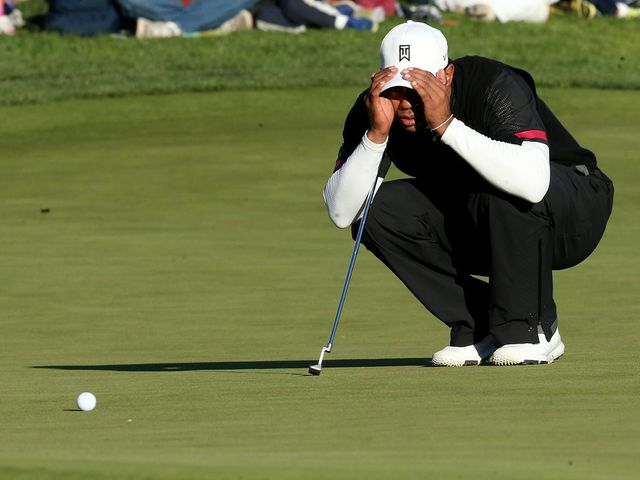 Tiger Woods: Firmly on course for victory after third round 72