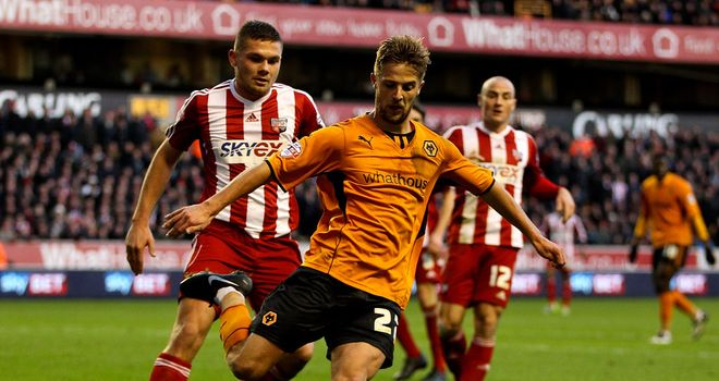 Michael Jacobs: Winger enjoying his loan spell at Wolves