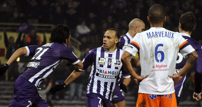 Abel Aguila scored Toulouse's equaliser