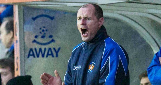 Allan Johnston: Point earned against Hibernian