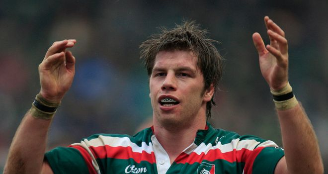 Brett Deacon: Proud of his time as a player with Leicester Tigers