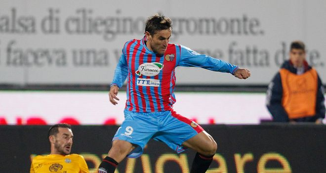 Gonzalo Bergessio: Scored a late winner for Catania