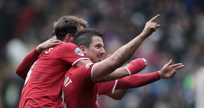 Yann Kermorgant: At the double for Charlton