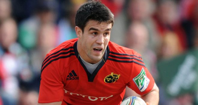 Conor Murray has decided to stay with Munster