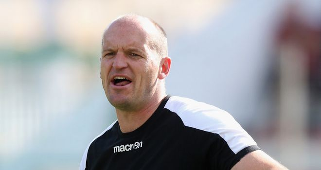 Gregor Townsend: happy with the win