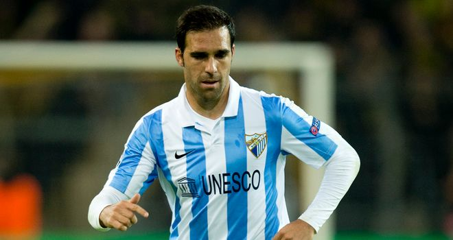 Nacho Camacho: Netted twice for Malaga