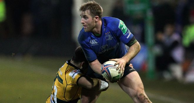 Luke Fitzgerald: three tries for Leinster