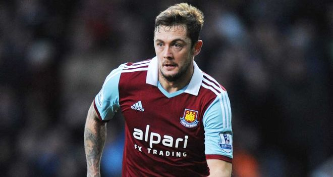 George McCartney: Hoping to extend his stay at West Ham