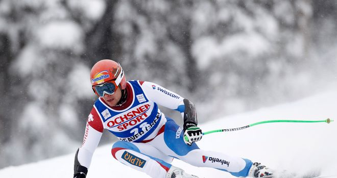 Patrick Kueng the suprise winner in Beaver Creek