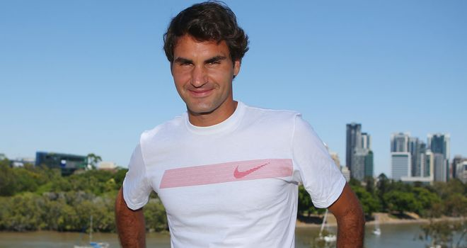 Roger Federer: In Brisbane where he starts his new season this week