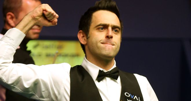 Ronnie O'Sullivan will play at Alexandra Palace after all