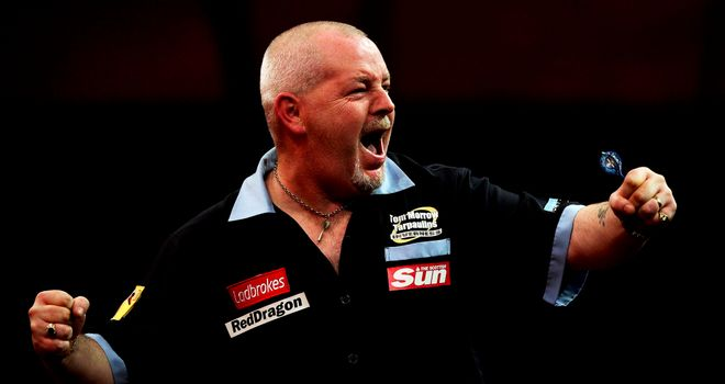 Robert Thornton: Scot takes on league leader Michael van Gerwen in Sheffield