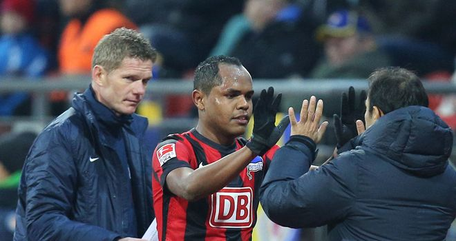 Ronny inspired Hertha Berlin to victory