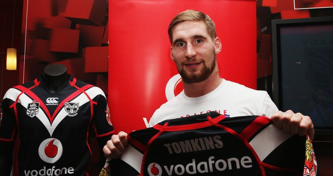 Sam Tomkins: Has joined the New Zealand Warriors on a three-year contract