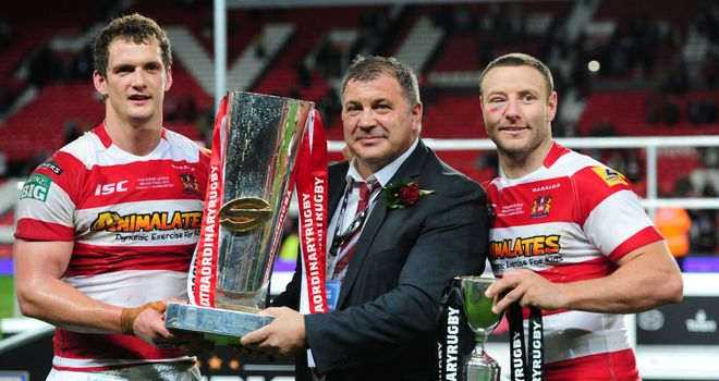 Wigan: hoping to for a repeat despite loss of Sam Tomkins