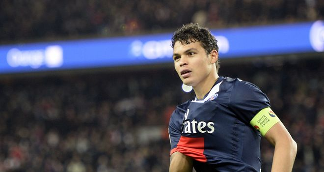 Thiago Silva: On target for PSG