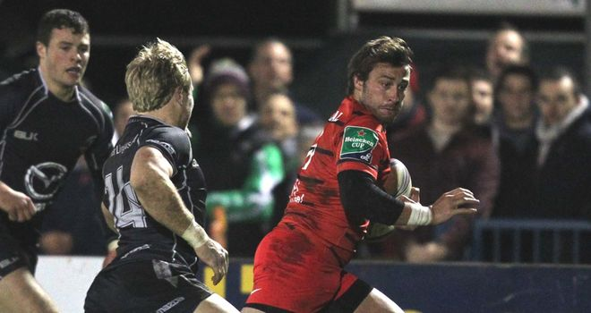 Maxime Medard: Toulouse wing in prolific form