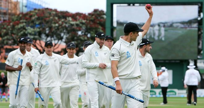 Trent Boult finished with 10 wickets in the match
