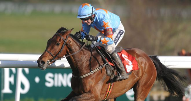 Un De Sceaux: Could be a Champion Hurdle horse