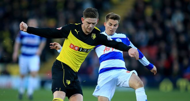 Sean Murray: Tangles with QPR's Tom Carroll