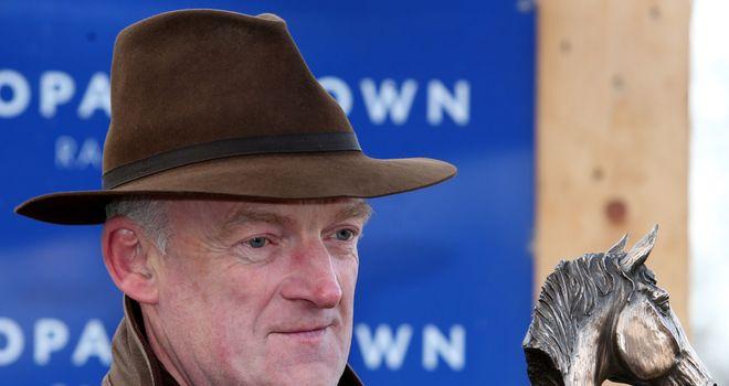 Willie Mullins: Set to run Smashing
