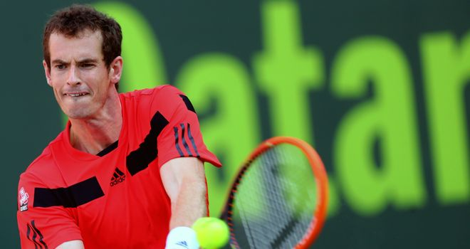 Andy Murray: Did not drop a game in the process of beating Mousa Shanan Zayed