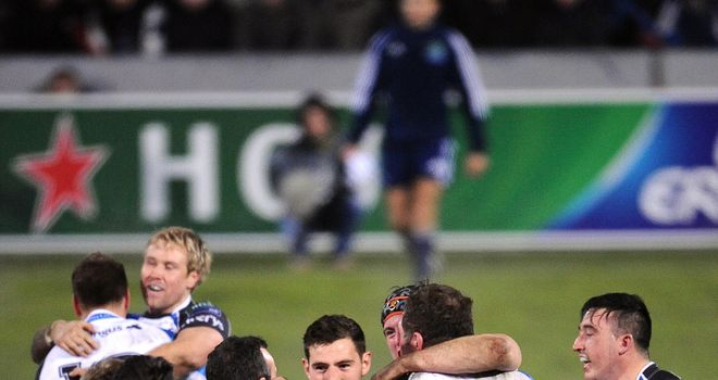 Connacht: Staged one of the biggest upsets in Heineken Cup history