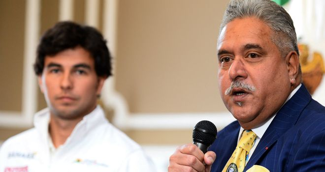 Vijay Mallya: Has been a big fan of Sergio Perez from afar