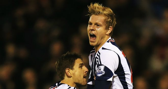 Matej Vydra (r) claimed a late equaliser for West Bromwich Albion against Hull City